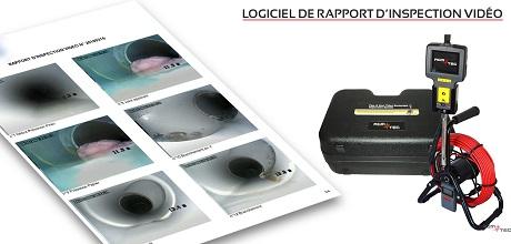 logiciel de rapport d'inspection de canalisation