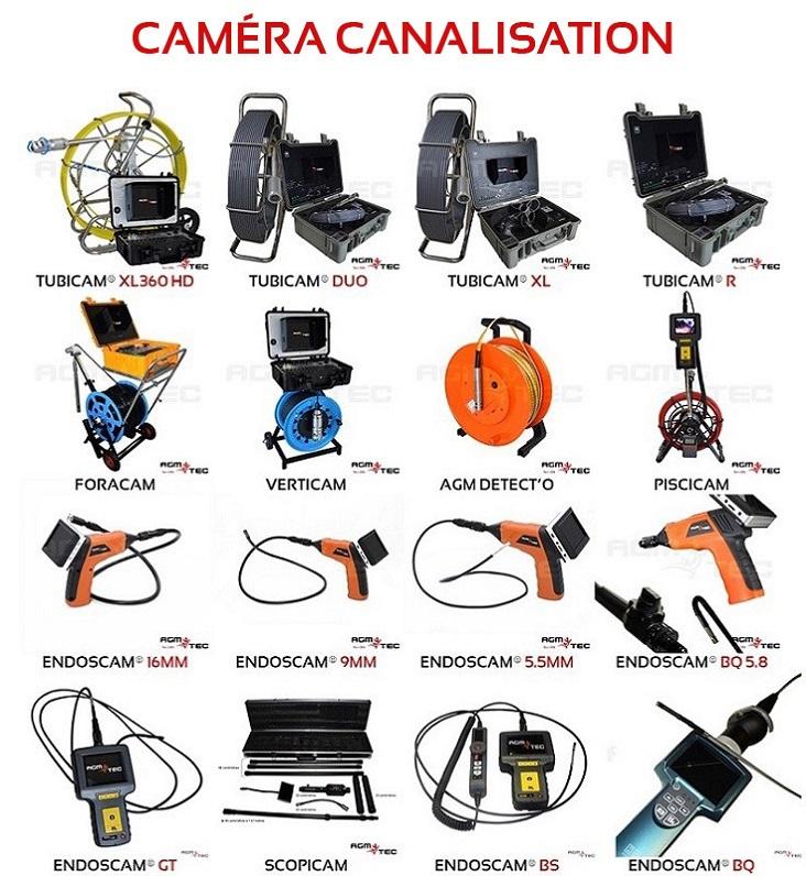 avis camera canalisation location